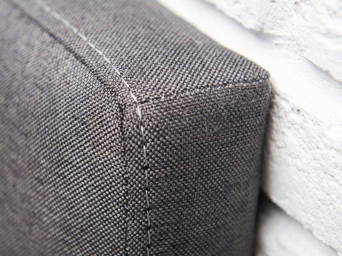 Кровать Клэр 180х200 темно-серого цвета