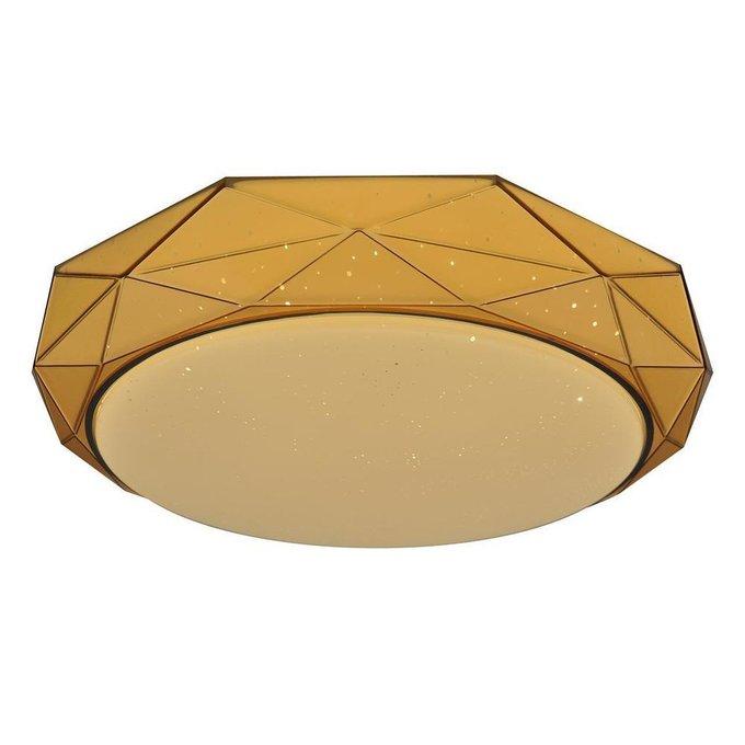 Настенно-потолочный светодиодный светильник Кристалл из металла и пластика