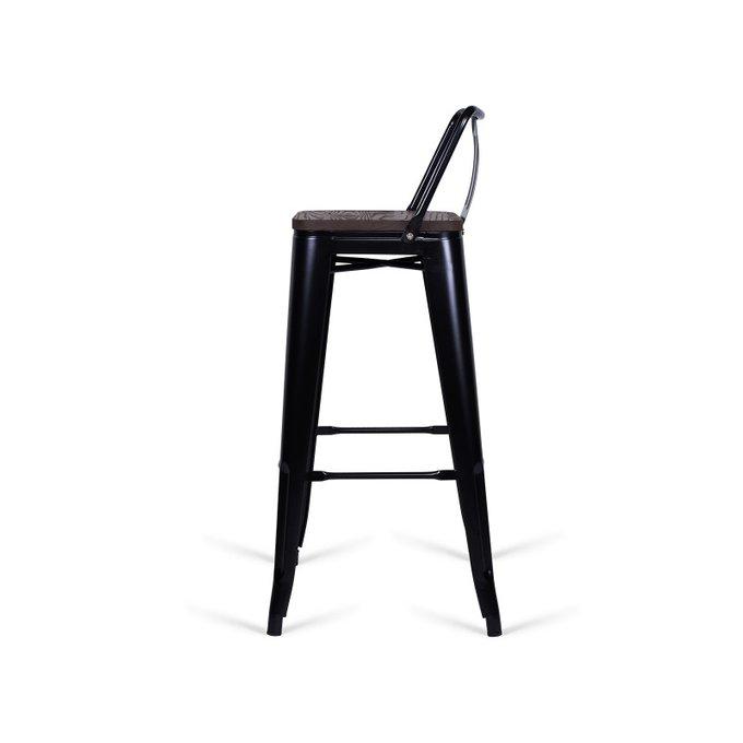 Стул барный Tolix Little Café черного цвета