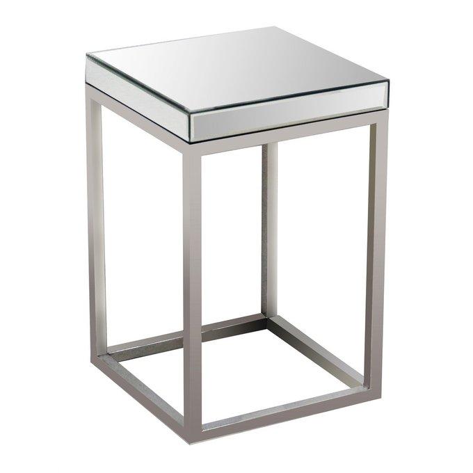 Кофейный столик Quadrato с зеркальной столешницей