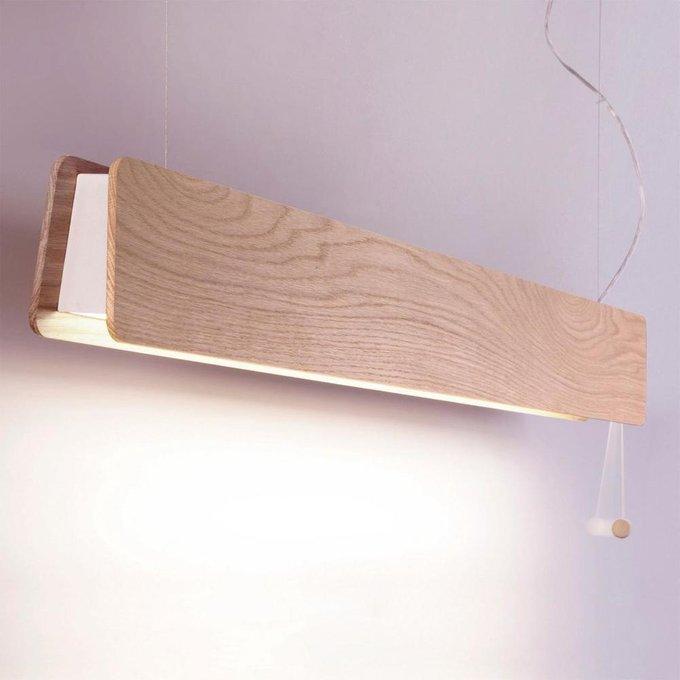 Подвесной светодиодный светильник Oslo из дерева