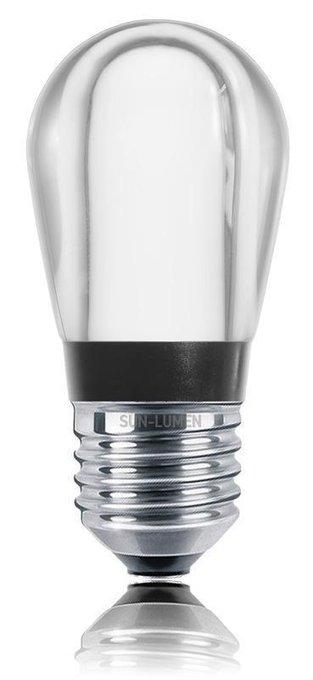 Лампа светодиодная Груша прозрачная
