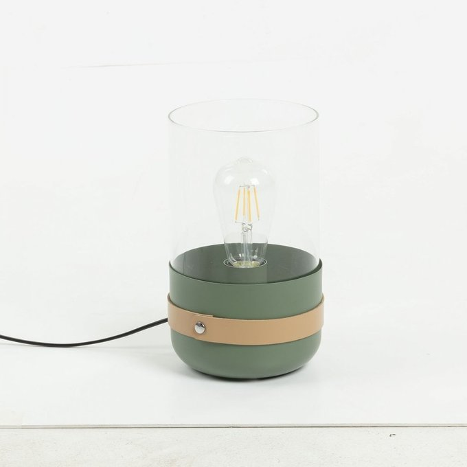 Настольная лампа Ramford c плафоном из стекла