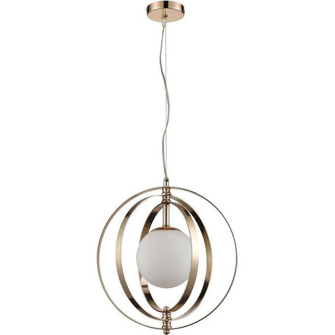 Подвесной светильник Orion с плафоном из стекла
