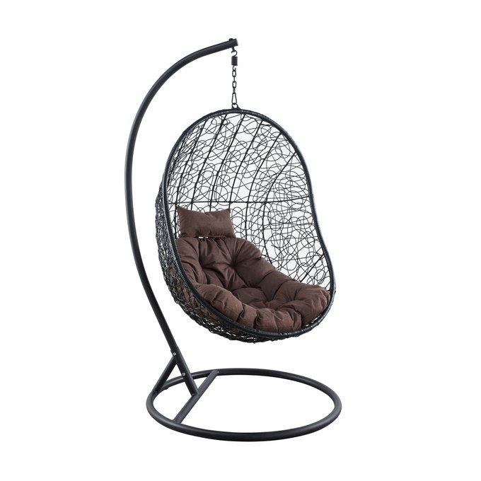 Подвесное кресло Kiwi из искусственного ротанга