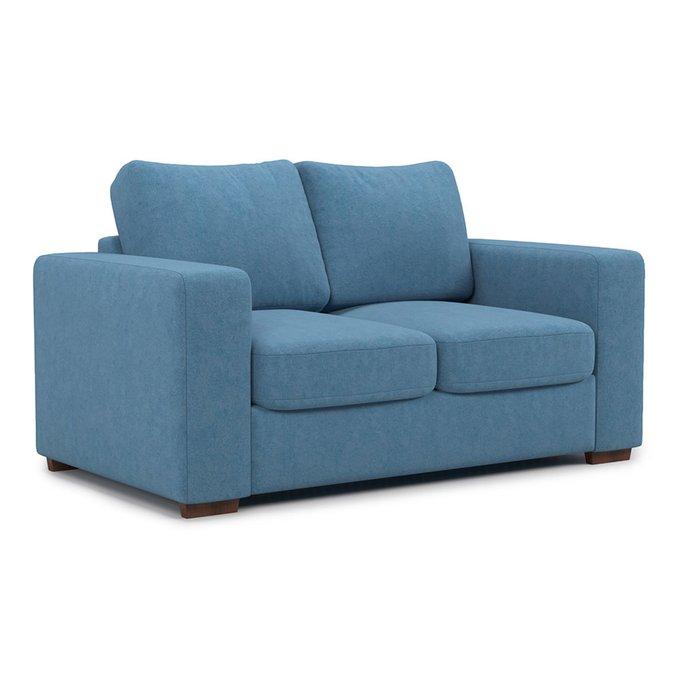Раскладной диван Morti MTR  двухместный синего цвета