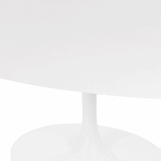 Обеденный стол Tulip белого цвета