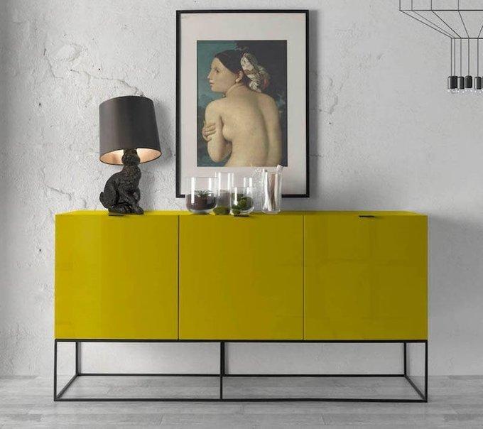 Комод Nobleza желтого цвета