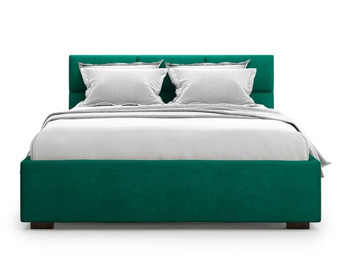 Кровать Bolsena без подъемного механизма 180х200 зеленого цвета