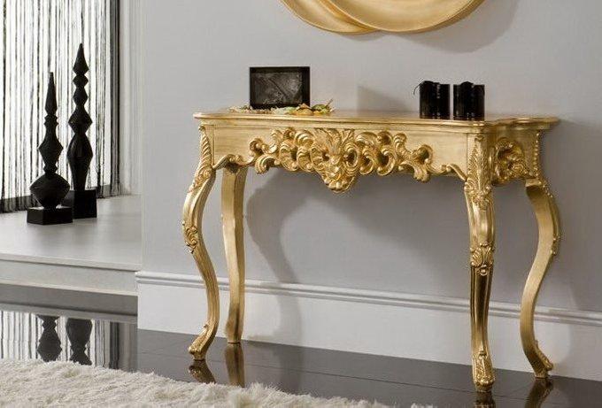 Консоль Dupen золотого цвета