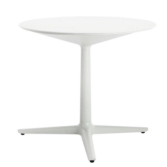 Обеденный стол Multiplo белого цвета