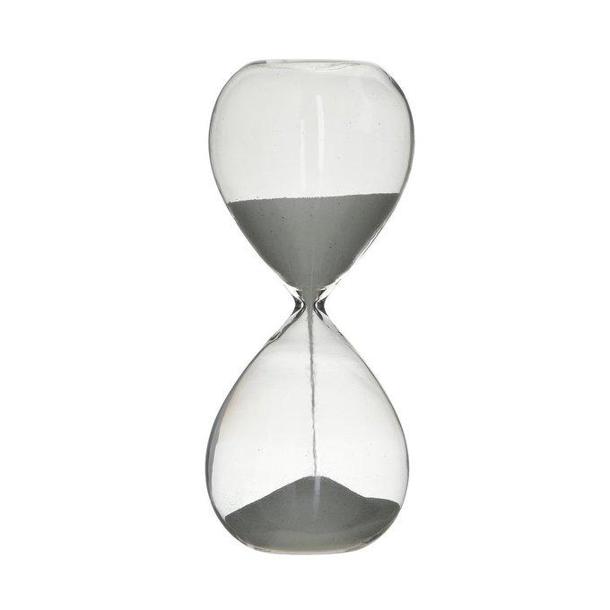 Декор настольный - песочные часы из стекла