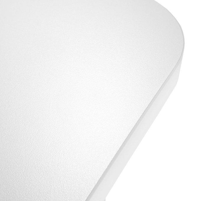 Стол офисный Max белого цвета