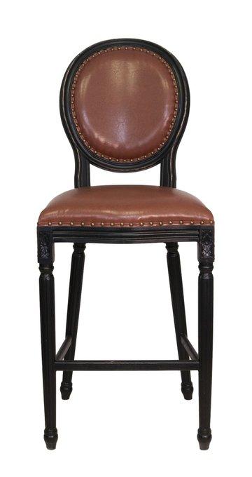Барный стул Filon Brown с каркасом из массива каучукового дерева