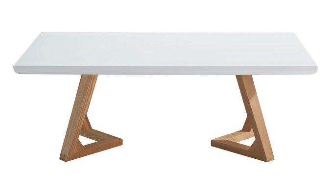 Журнальный стол Maureen белый/ясень