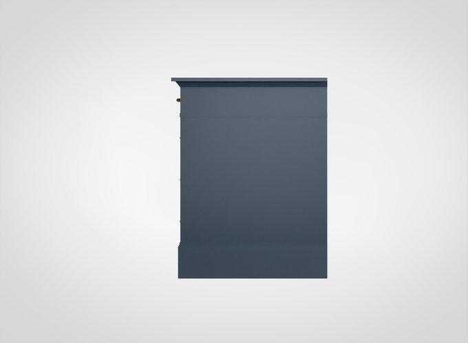 Стол письменный Manhattan серо-синего цвета