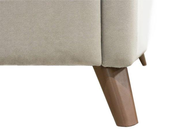 Кровать Эскада серого цвета с ортопедическим основанием 160х200