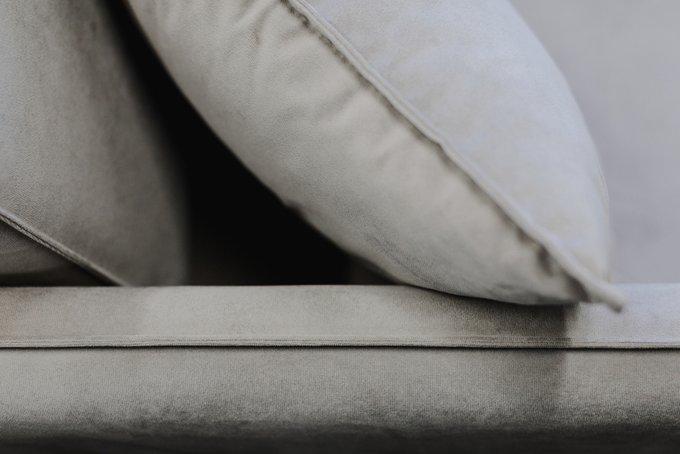 Диван раскладной Фьорд коричневого цвета