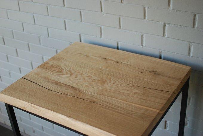 Барный стол Dub 01 из массива дуба