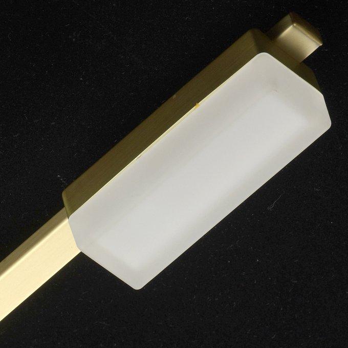 Потолочная светодиодная люстра Этингер с белыми плафонами