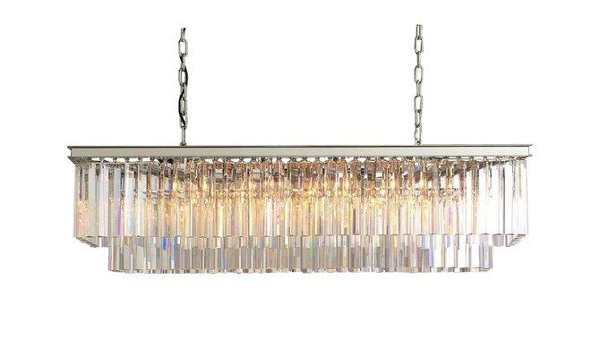 Люстра Odeon  Silver из прозрачного стекла