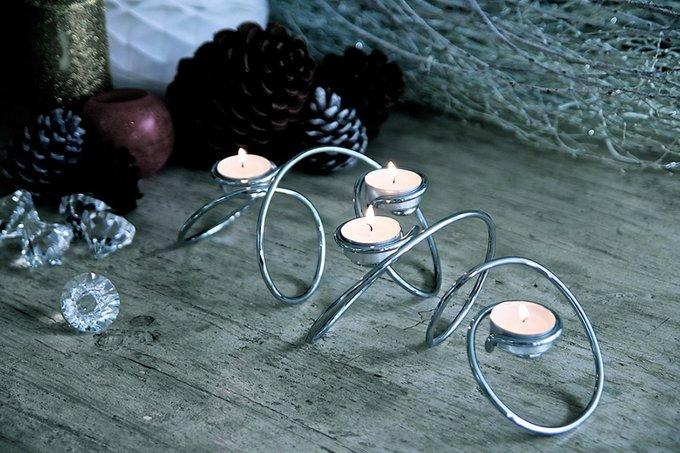 Подсвечник для чайных свечей Black+Blum