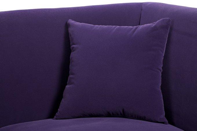 Диван Hollis фиолетового цвета