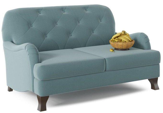 Диван-кровать Сириус Blue темно-голубого цвета