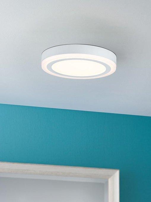 Потолочный светодиодный светильник Sol белого цвета