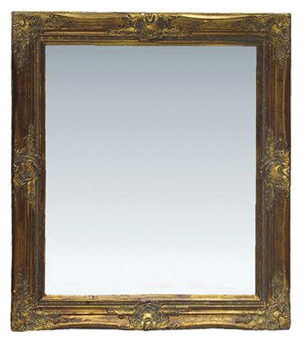 Настенное Зеркало с рамой из пластика