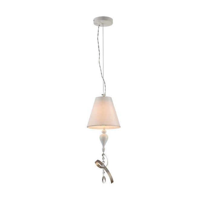 Подвесной светильник Intreccio белого цвета