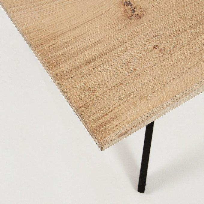 Стол обеденный Amethyst 215 с дубовой столешницей