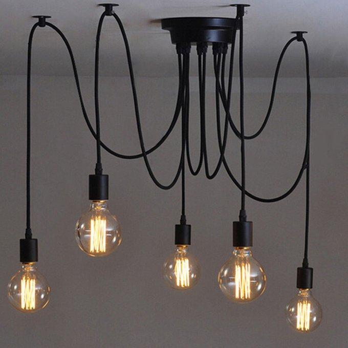 Потолочный светильник Edison Chandelier