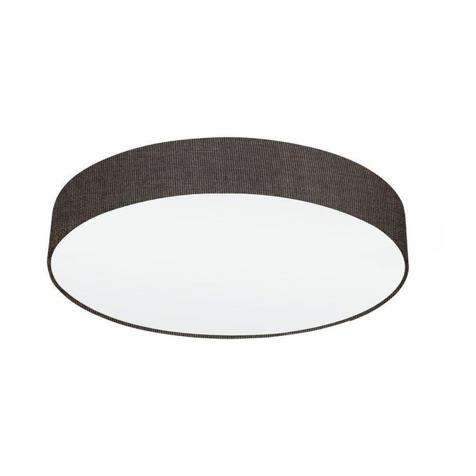 Потолочный светильник Pasteri из металла и ткани