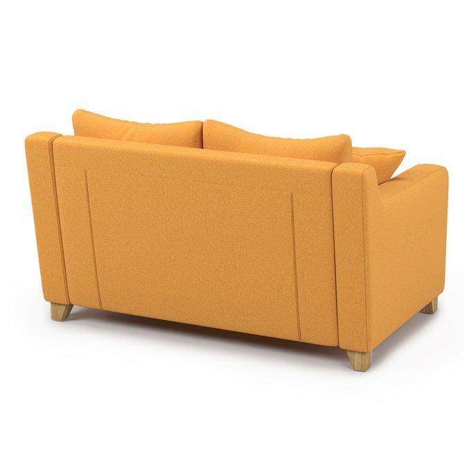 Диван-кровать Mendini MTR (144 см) желтого цвета