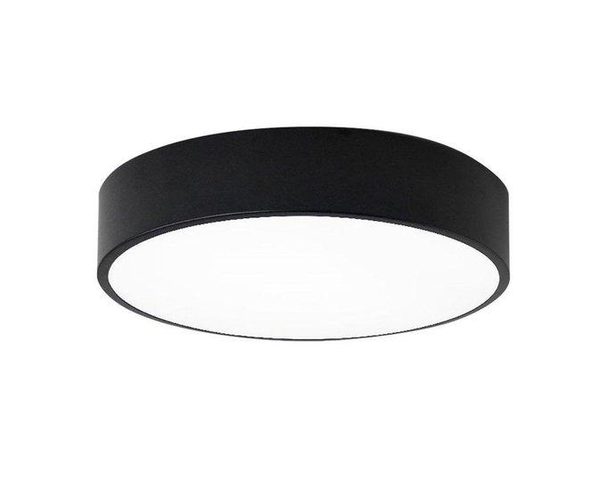 Потолочный светодиодный светильник Медина черно-белого цвета