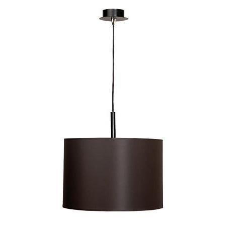 Подвесной светильник Alice с темно-коричневым абажуром