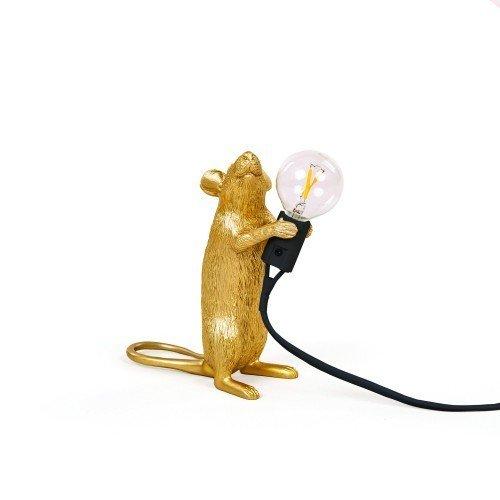 Настольная лампа Mouse Lamp Gold Step