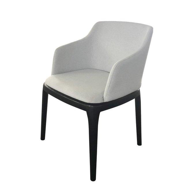 Стул Lwid Arm светло-серого цвета