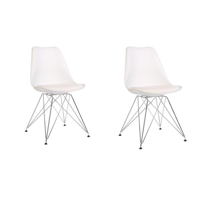 Набор из двух стульев Феликс белого цвета