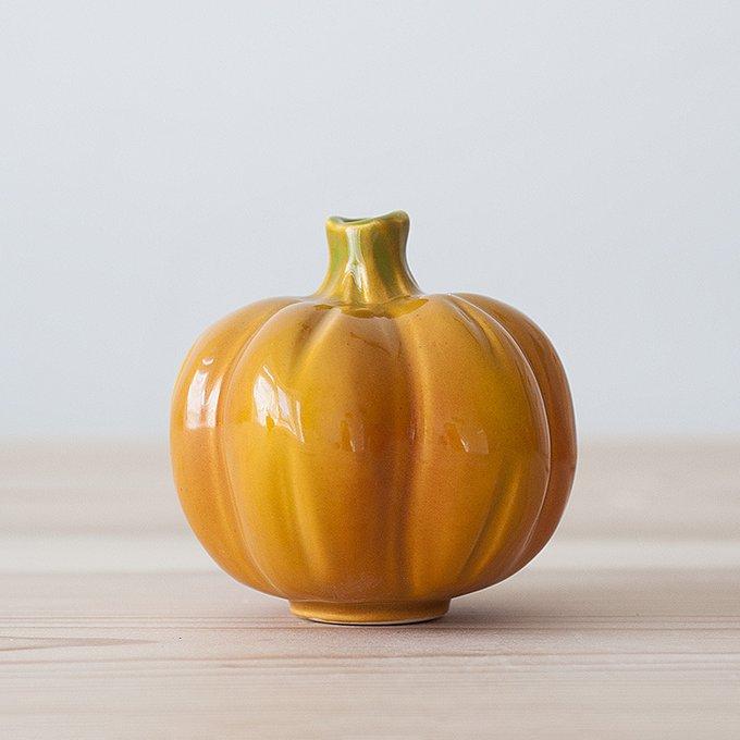 Декор Pumpkin в виде керамической тыквы