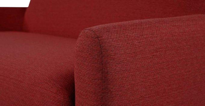 Диван Jonah L трехместный красного цвета