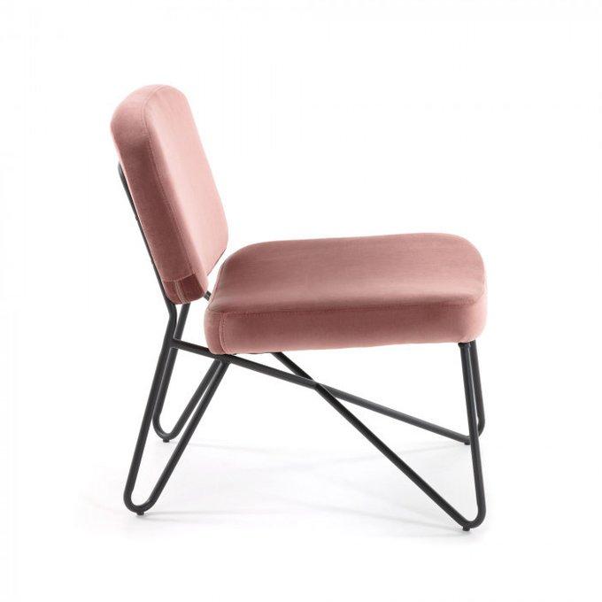 Кресло Circuit светло-розового цвета
