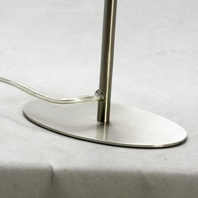 Настольная лампа Evans с белым абажуром