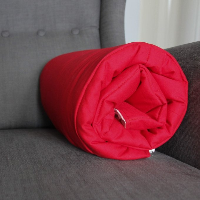 Стеганый игровой коврик Simple Red