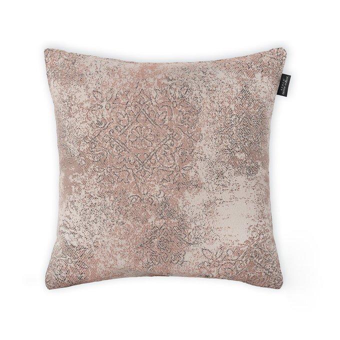 Декоративная подушка Milano Damask Desert кремового цвета