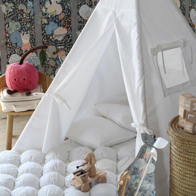 Чехол для подушки Simple White из 100% хлопка