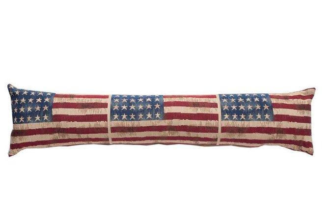 Длинная подушка с американским флагом USA Dreams