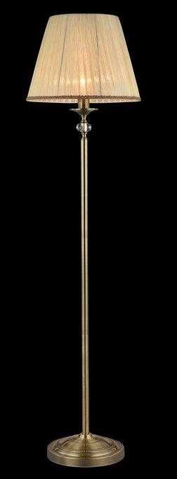 Торшер Soffia с абажуром бежевого цвета