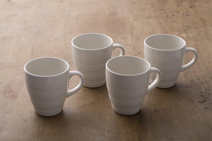 Набор из четырех кружек Original Cane из керамики
